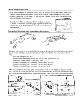 Invertebrate Movements