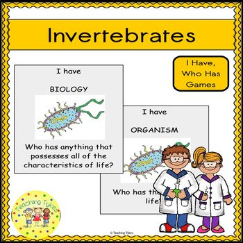 Invertebrates Biology I Have, Who Has Games