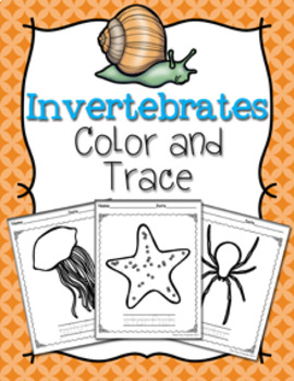 Invertebrates Color and Trace