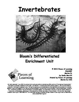 Invertebrates - Differentiated Blooms Enrichment Unit