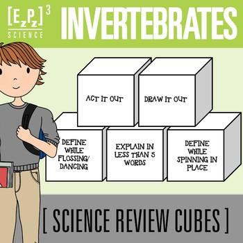 Invertebrates Science Cubes