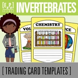 Invertebrates Science Trading Cards