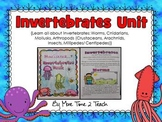 Classifying Animals: Invertebrates Unit | Informational Text | Assessment & More
