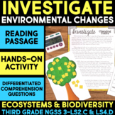 INVESTIGATE Color Change of Insects - Ecosystems and Biodiversity