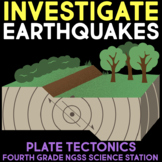 Investigate Earthquakes -  Fourth Grade Science Stations
