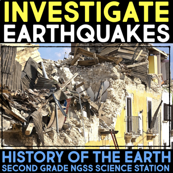 Investigate Earthquakes and Buildings - History of the Earth - Second Stations