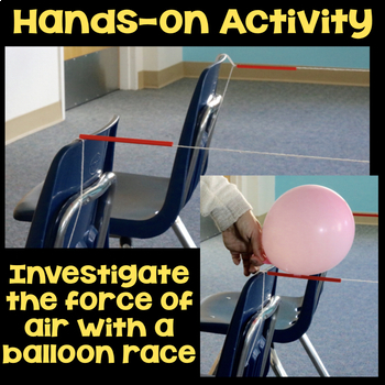 Investigate Force with a Balloon Race - Science Station