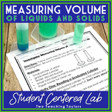 Measuring Volume of Liquids and Solids using a Graduated Cylinder