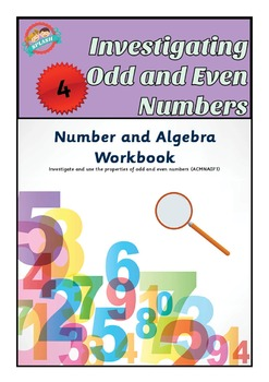 Investigate Odd and Even Numbers (Parity) Workbook
