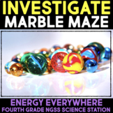 Investigate Potential & Kinetic Energy with a Marble Maze Science Station
