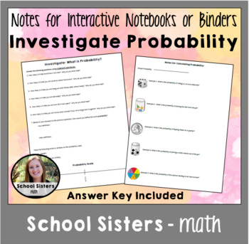 Investigate Probability Task and Notes