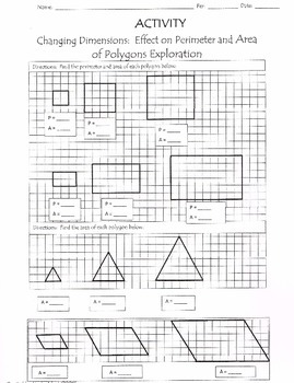 Investigate Scaling Area and Perimeter of Similar Polygons