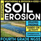 Investigate Soil Erosion -  4th Grade Science Stations