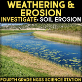 INVESTIGATE Soil Erosion and Deposition - Hands-on Science Stations
