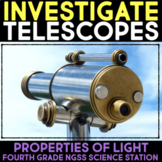Investigate Telescopes - Vision and Images Properties of Light