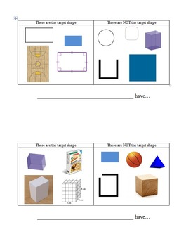 Investigate Two & Three Dimensional Shapes
