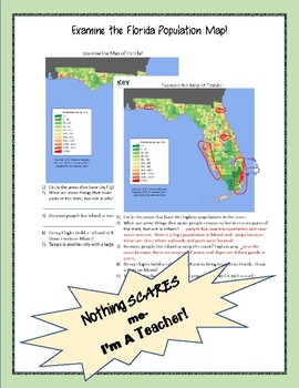 Investigate a Population Map of Florida