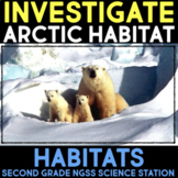 Investigate the Arctic Habitat - Second Grade Science Stations