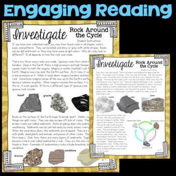 Investigate the rock cycle changing earth fourth grade science investigate the rock cycle changing earth fourth grade science station ccuart Image collections
