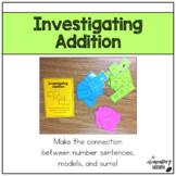 Investigating Addition:  Helping Kindergarteners Master Mo