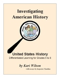 US History: All Year Long Project Based Learning Activities