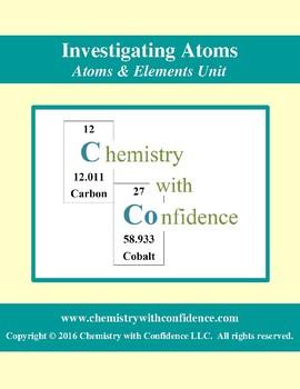 Investigating Atoms: Tech Assignment