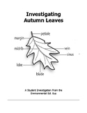 Autumn Leaves - A Student Investigation