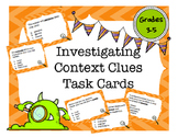 Investigating Context Clues Task Cards