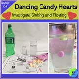 Candy Heart Science:  A Floating and Sinking Experiment