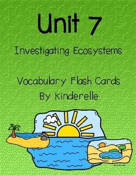 Investigating Ecosystems Flash Cards