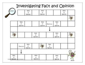 Fact and Opinon - Monster Investigations