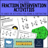 Adding and Subtracting Fractions - Math Intervention