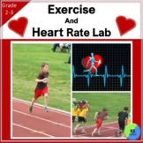 Heart Rate and Exercise Experiment for 2nd/3rd Grade