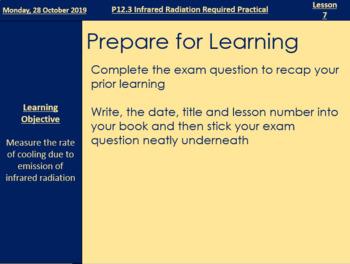 Investigating IR - Full Lesson