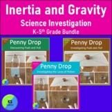 Investigating Inertia and Gravity:  Experiment on the Laws