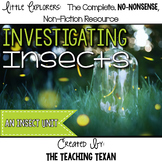 Investigating Insects:  A Non-Fiction Insect Unit