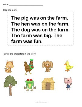 Investigating Key Ideas and Details for Beginning Readers