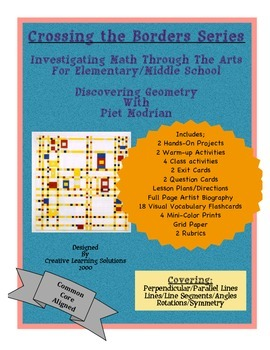 Investigating Math Through The Arts;Geometry for Middle Sc