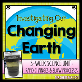 Earth Processes Science Unit