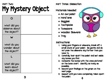 Investigating Owls & Owl Pellet Student Guide