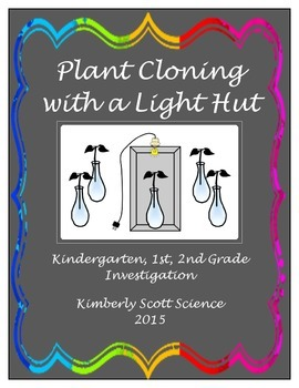 Plant Cloning with a Light Hut: Kindergarten/1st/2nd Grade