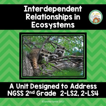 Interdependent Relationships in an Ecosystems:  NGSS 2-LS
