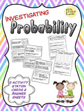 Investigating Probability Task Station Cards and Sheets