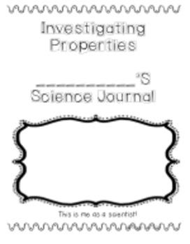 Investigating Properties Interactive Science Journal
