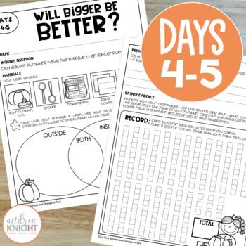 Investigating Pumpkins:  A Week-Long Pumpkin Study for Primary Grades