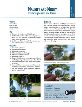 Lenses and Focal Length--Science Experiments on Optics for Middle School
