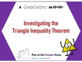 Investigating Relationships within Triangles - A GeoGebra Activity