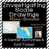 Investigating Scale Drawings Mini Bundle