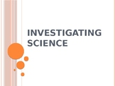 Investigating Science (Intro to Middle School Science) - Grades 6-9