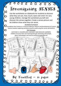 Investigating Senses Activities